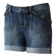 Rock and Republic Stinger Cuffed Denim Shorts