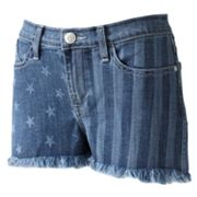 Rock and Republic Lolita Stars and Stripes Denim Shorts