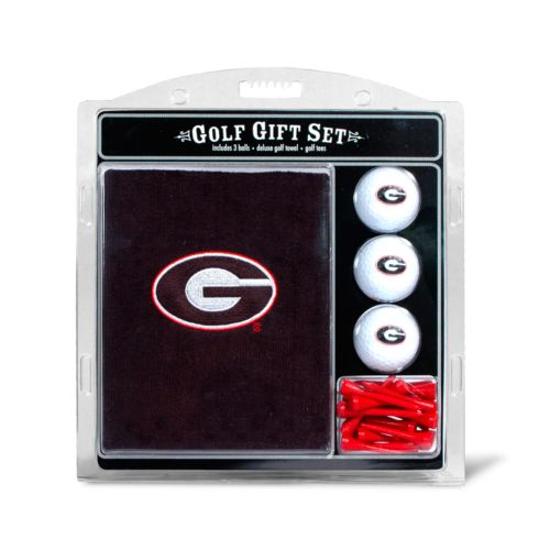 Team Golf Georgia Bulldogs Embroidered Towel Gift Set