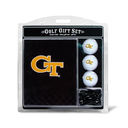 Team Golf Georgia Tech Yellow Jackets Embroidered Towel Gift Set