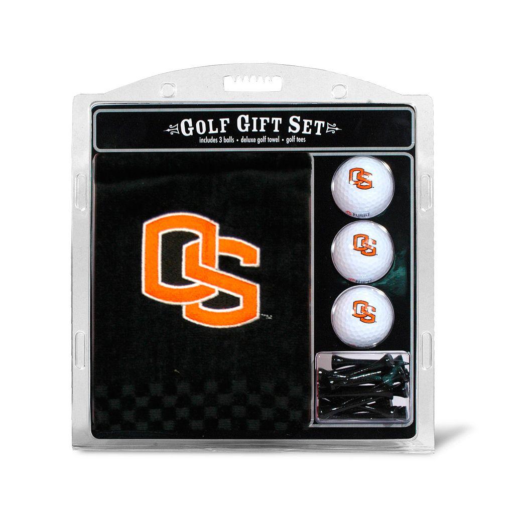 Team Golf Oregon State Beavers Embroidered Towel Gift Set