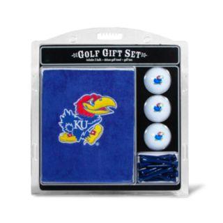 Team Golf Kansas Jayhawks Embroidered Towel Gift Set