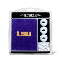Team Golf LSU Tigers Embroidered Towel Gift Set