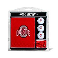 Team Golf Ohio State Buckeyes Embroidered Towel Gift Set