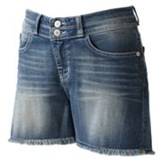 Rock and Republic Bonnaroo Frayed Denim Shorts
