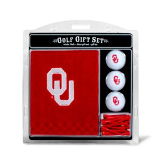 Team Golf Oklahoma Sooners Embroidered Towel Gift Set