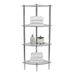Creative Ware Home L'etagere 4-Shelf Corner Tower