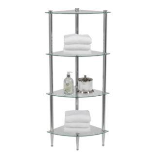 Creative Ware Home L'etagere 4-Shelf Corner Tower