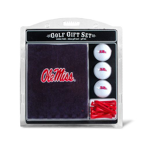 Team Golf Ole Miss Rebels Embroidered Towel Gift Set
