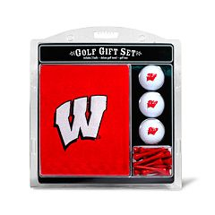 Team Golf Wisconsin Badgers Embroidered Towel Gift Set