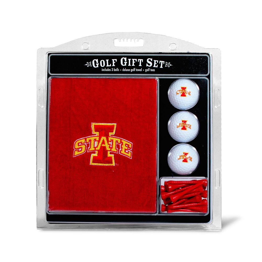 Team Golf Iowa State Cyclones Embroidered Towel Gift Set