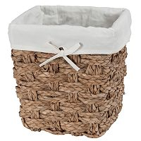 Creative Bath Chunky Weave2 Wastebasket