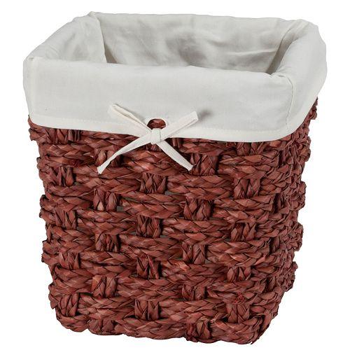 Creative Bath Chunky Weave2 Wastebasket