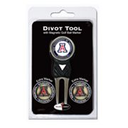 Team Golf Arizona Wildcats 4 pc Divot Tool & Ball Marker Set