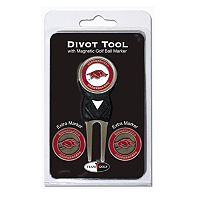 Team Golf Arkansas Razorbacks 4 pc Divot Tool & Ball Marker Set