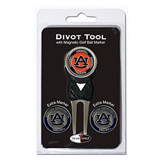 Team Golf Auburn Tigers 4 pc Divot Tool & Ball Marker Set