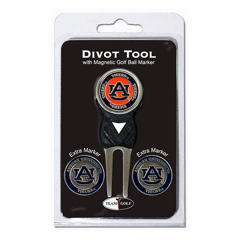 Team Golf Auburn Tigers 4-pc. Divot Tool & Ball Marker Set