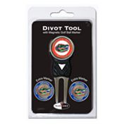 Team Golf Florida Gators 4 pc Divot Tool & Ball Marker Set