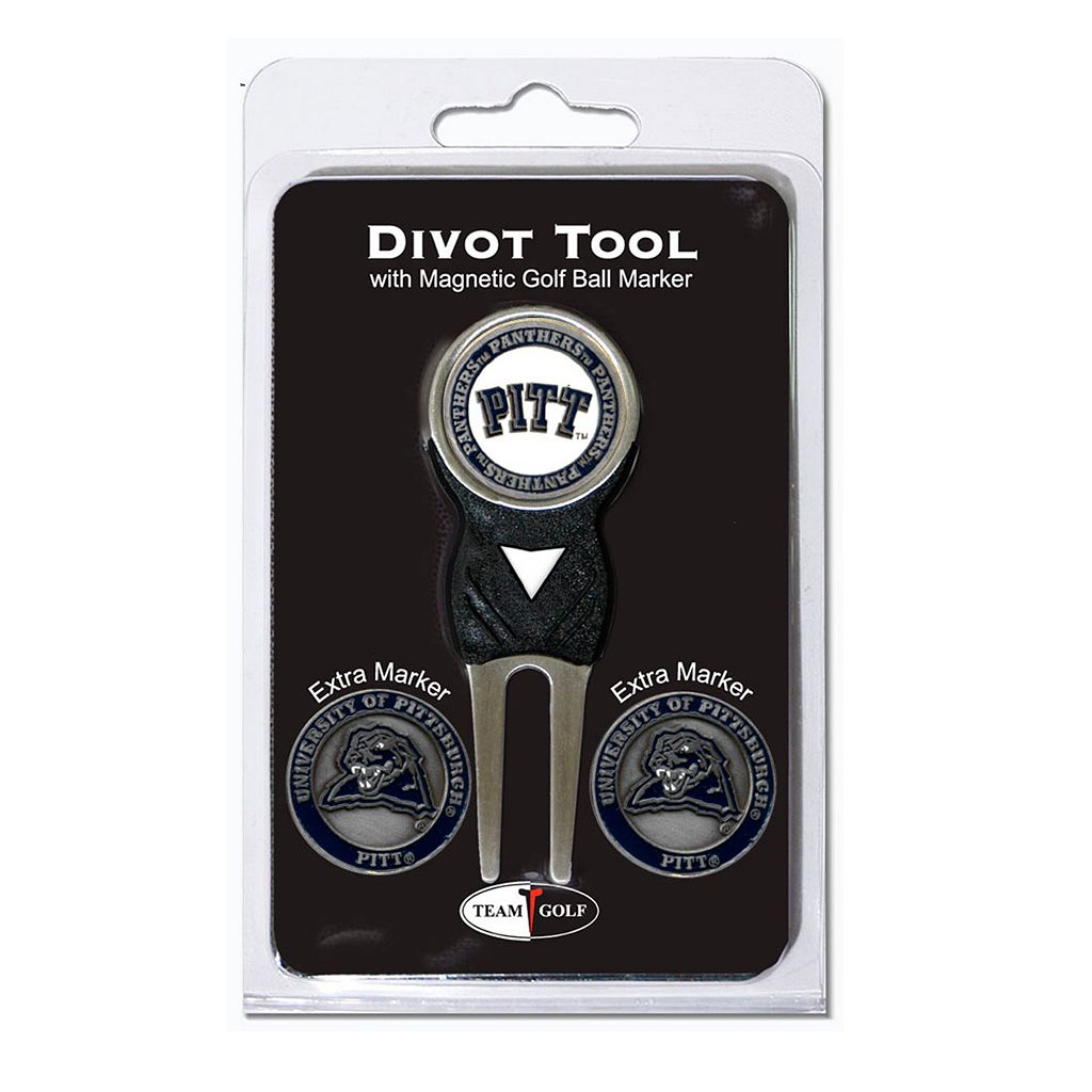 Team Golf Pittsburgh Panthers 4-pc. Divot Tool & Ball Marker Set