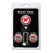 Team Golf Wisconsin Badgers 4-pc. Divot Tool and Ball Marker Set