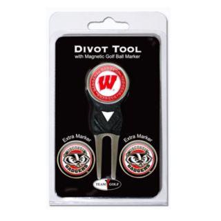 Team Golf Wisconsin Badgers 4-pc. Divot Tool and Ball Marker Set