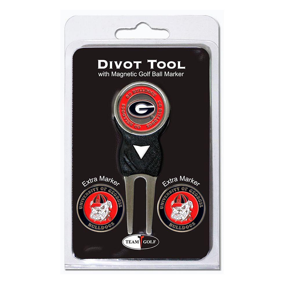 Team Golf Georgia Bulldogs 4-pc. Divot Tool & Ball Marker Set
