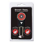 Team Golf Georgia Bulldogs 4 pc Divot Tool & Ball Marker Set