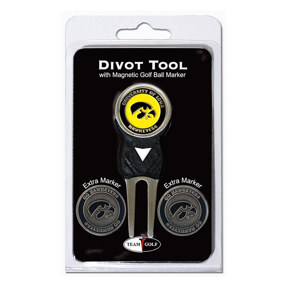 Team Golf Iowa Hawkeyes 4-pc. Divot Tool & Ball Marker Set