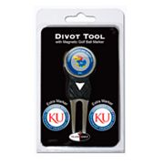 Team Golf Kansas Jayhawks 4-pc. Divot Tool and Ball Marker Set