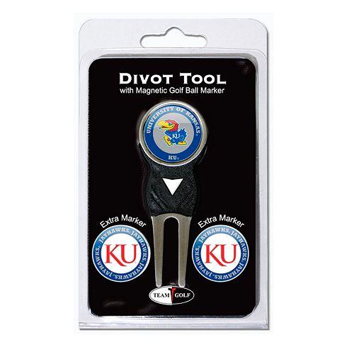 Team Golf Kansas Jayhawks 4-pc. Divot Tool & Ball Marker Set