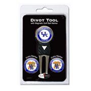 Team Golf Kentucky Wildcats 4 pc Divot Tool & Ball Marker Set