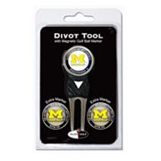 Team Golf Michigan Wolverines 4-pc. Divot Tool and Ball Marker Set