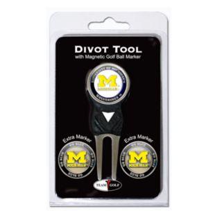 Team Golf Michigan Wolverines 4-pc. Divot Tool and Ball Marker Set