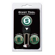 Team Golf Michigan State Spartans 4-pc. Divot Tool and Ball Marker Set