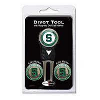Team Golf Michigan State Spartans 4-pc. Divot Tool & Ball Marker Set