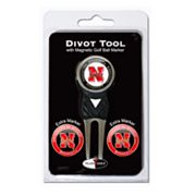 Team Golf Nebraska Cornhuskers 4-pc. Divot Tool and Ball Marker Set