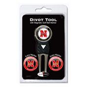 Team Golf Nebraska Cornhuskers 4 pc Divot Tool & Ball Marker Set