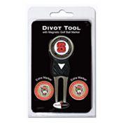 Team Golf NC State Wolfpack 4 pc Divot Tool & Ball Marker Set