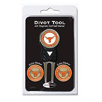 Team Golf Texas Longhorns 4 pc Divot Tool & Ball Marker Set