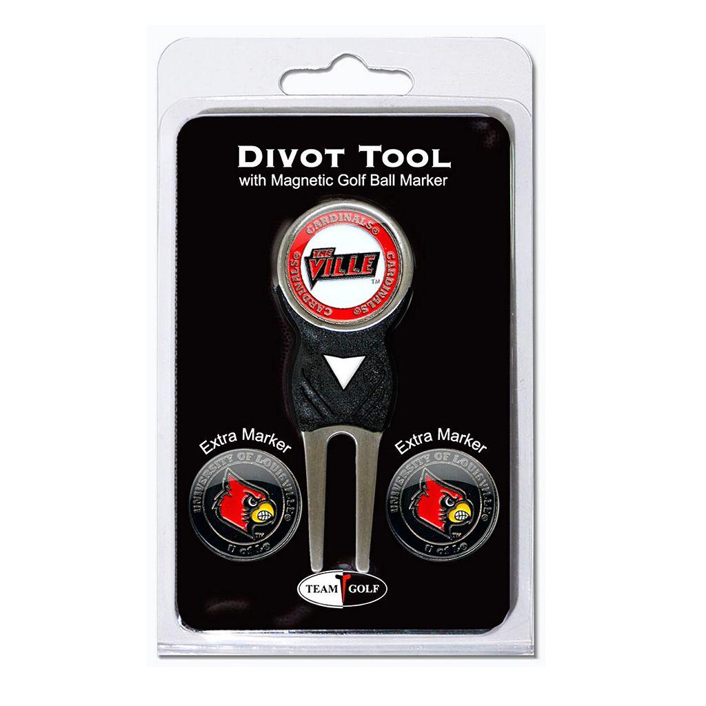 Team Golf Louisville Cardinals 4-pc. Divot Tool & Ball Marker Set