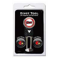 Team Golf Louisville Cardinals 4-pc. Divot Tool & Ball Marker Set