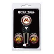 Team Golf Minnesota Golden Gophers 4 pc Divot Tool & Ball Marker Set