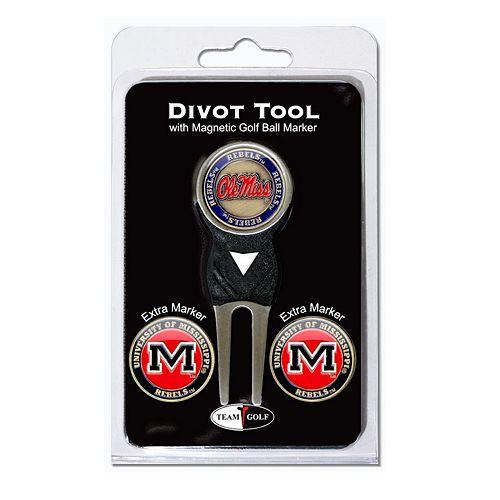 Team Golf Ole Miss Rebels 4-pc. Divot Tool & Ball Marker Set