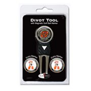 Team Golf Oklahoma State Cowboys 4-pc. Divot Tool and Ball Marker Set