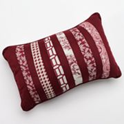 Hedaya Richmond Striped Reversible Decorative Pillow