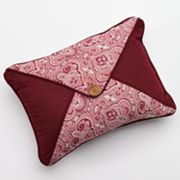 Hedaya Richmond Button Reversible Decorative Pillow