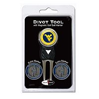 Team Golf West Virginia Mountaineers 4-pc. Divot Tool & Ball Marker Set