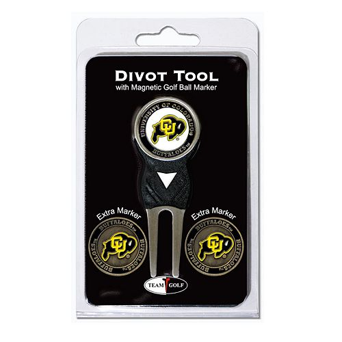 Team Golf Colorado Buffaloes 4-pc. Divot Tool & Ball Marker Set