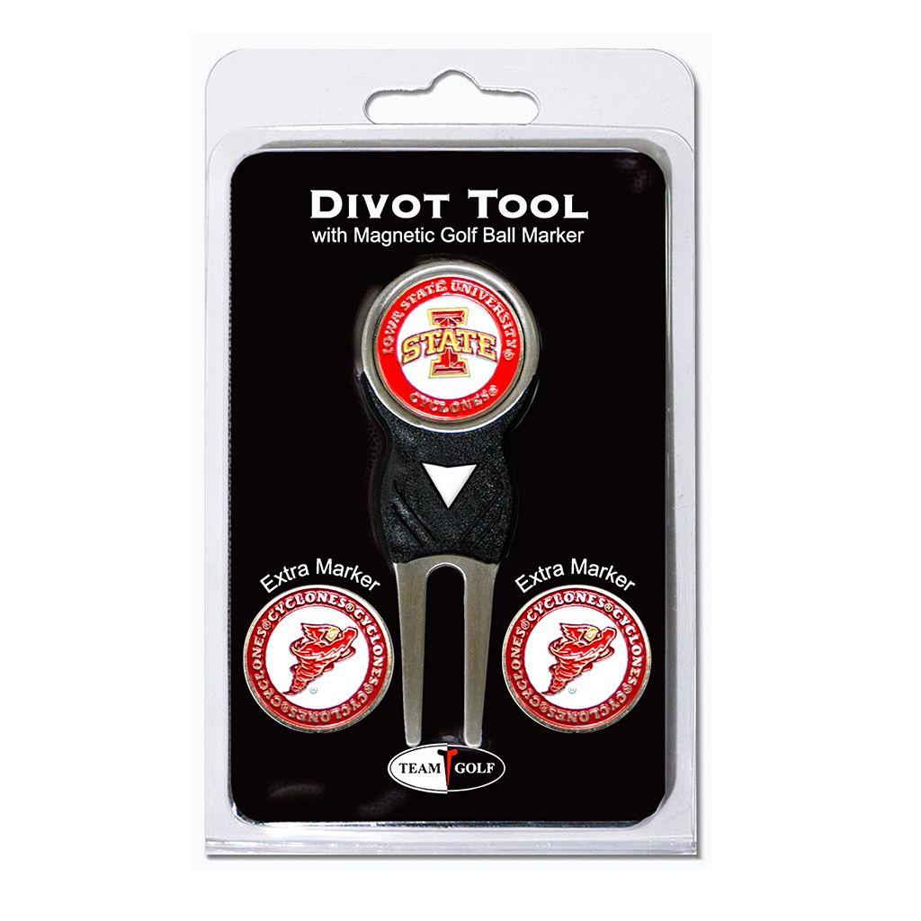 Team Golf Iowa State Cyclones 4-pc. Divot Tool & Ball Marker Set
