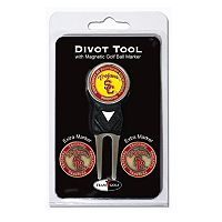 Team Golf USC Trojans 4 pc Divot Tool & Ball Marker Set